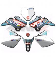 Piece Kit décoration YCF START F125SE 2019 de Pit Bike et Dirt Bike