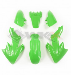Piece Kit plastique CRF 50 VERT de Pit Bike et Dirt Bike
