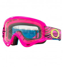 Piece Masque enfant OAKLEY XS O Frame MX ROSE de Pit Bike et Dirt Bike