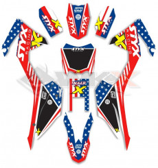 Piece Kit décoration STYX RACING CRF 110 de Pit Bike et Dirt Bike