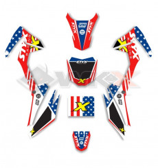 Piece Kit décoration STYX RACING Mini CRF 110 de Pit Bike et Dirt Bike