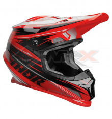Piece Casque THOR Sector taille L ROUGE de Pit Bike et Dirt Bike