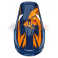 Piece Casque THOR Sector taille L BLEU / ORANGE de Pit Bike et Dirt Bike