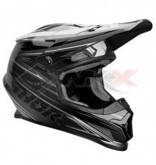 Piece Casque THOR Sector taille L GRIS / NOIR de Pit Bike et Dirt Bike
