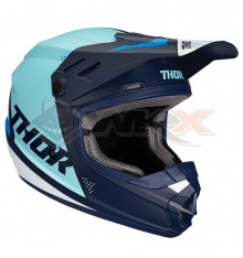 Piece Casque THOR Sector taille S BLEU de Pit Bike et Dirt Bike