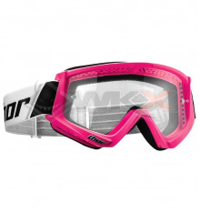 Piece Masque THOR Combat ROSE de Pit Bike et Dirt Bike