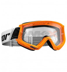 Piece Masque enfant THOR Combat ORANGE de Pit Bike et Dirt Bike