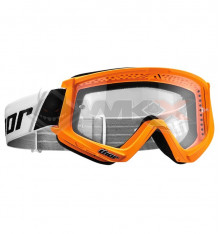 Piece Masque THOR Combat ORANGE de Pit Bike et Dirt Bike