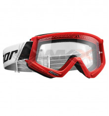 Piece Masque THOR Combat ROUGE de Pit Bike et Dirt Bike