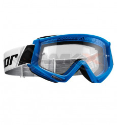 Piece Masque THOR Combat BLEU de Pit Bike et Dirt Bike