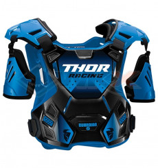 Piece Plastron enfant THOR Guardian taille 2XS/XS BLEU de Pit Bike et Dirt Bike