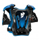 Piece Plastron THOR Guardian taille M/L BLEU de Pit Bike et Dirt Bike