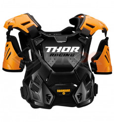 Piece Plastron enfant THOR Guardian taille 2XS/XS ORANGE de Pit Bike et Dirt Bike