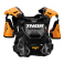 Piece Plastron enfant THOR Guardian taille S/M ORANGE de Pit Bike et Dirt Bike