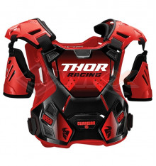 Piece Plastron THOR Guardian taille M/L ROUGE de Pit Bike et Dirt Bike