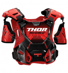 Piece Plastron THOR Guardian taille XL/2XL ROUGE de Pit Bike et Dirt Bike