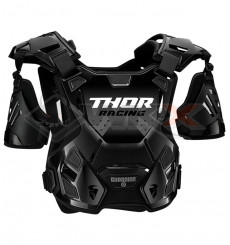 Piece Plastron THOR Guardian taille M/L NOIR de Pit Bike et Dirt Bike