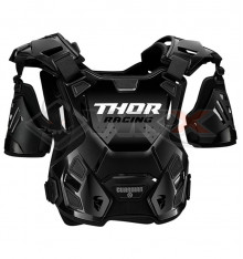 Piece Plastron THOR Guardian taille XL/2XL NOIR de Pit Bike et Dirt Bike