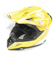Piece Casque YEMA taille XS JAUNE de Pit Bike et Dirt Bike