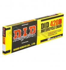 Piece Chaine de transmission 420 DID 120 maillons de Pit Bike et Dirt Bike