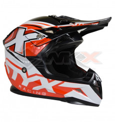 Piece Casque STYX RACING taille XL ROUGE de Pit Bike et Dirt Bike