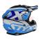 Piece Casque enfant STYX RACING taille YS BLEU de Pit Bike et Dirt Bike