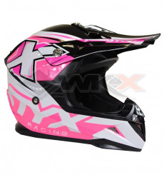 Piece Casque STYX RACING taille M ROSE de Pit Bike et Dirt Bike