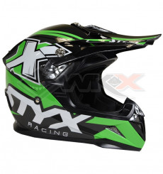 Piece Casque STYX RACING taille L VERT de Pit Bike et Dirt Bike