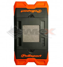 Piece Tapis de paddock POLISPORT ORANGE de Pit Bike et Dirt Bike