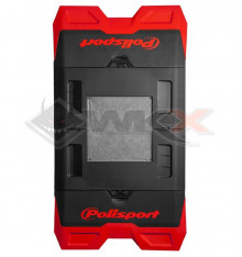 Piece Tapis de paddock POLISPORT ROUGE de Pit Bike et Dirt Bike