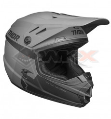 Piece Casque enfant THOR Sector Racer taille YM GRIS de Pit Bike et Dirt Bike