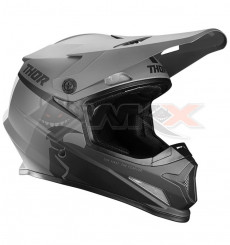 Piece Casque THOR Sector Racer taille M GRIS de Pit Bike et Dirt Bike