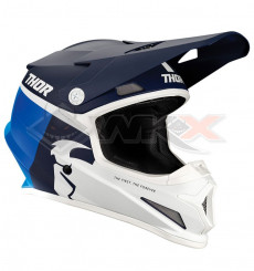 Piece Casque THOR Sector Racer taille XL BLEU de Pit Bike et Dirt Bike
