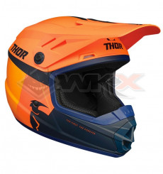 Piece Casque enfant THOR Sector Racer taille YL ORANGE de Pit Bike et Dirt Bike