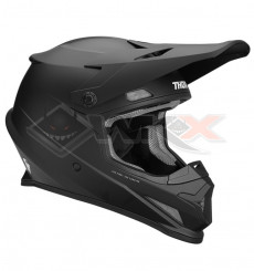 Piece Casque THOR Sector Blackout taille XL NOIR MAT de Pit Bike et Dirt Bike