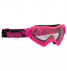 Piece Masque enfant MOOSE Qualifier Slash ROSE de Pit Bike et Dirt Bike