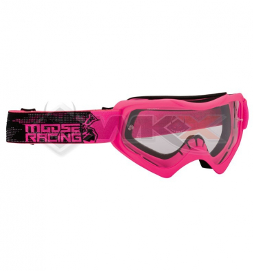 Piece Masque MOOSE Qualifier Slash ROSE de Pit Bike et Dirt Bike