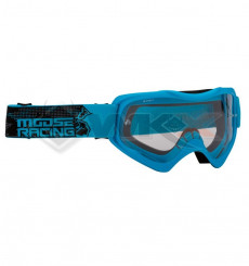 Piece Masque MOOSE Qualifier Slash BLEU de Pit Bike et Dirt Bike