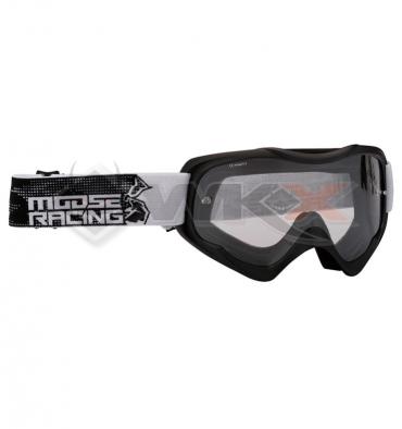 Piece Masque MOOSE Qualifier Slash NOIR de Pit Bike et Dirt Bike
