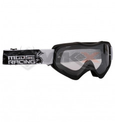 Piece Masque MOOSE Qualifier Slash NOIR de Pit Bike et Dirt Bike