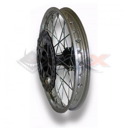 Piece Jante avant aluminium 14' YCF SP3 de Pit Bike et Dirt Bike