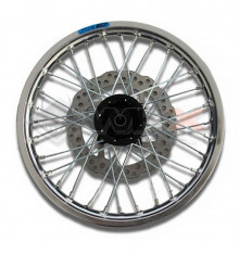 Piece Jante avant aluminium YCF 1.4x14' GRISE de Pit Bike et Dirt Bike