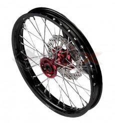 Piece Jante avant aluminium YCF BIGY 1.60x17' ROUGE de Pit Bike et Dirt Bike