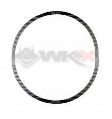 Piece Sticker de roue YCF SM 12' - 0,3 mm NOIR de Pit Bike et Dirt Bike