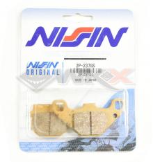 Piece Plaquettes de frein NISSIN 2P-237GS de Pit Bike et Dirt Bike