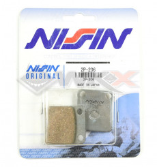 Piece Plaquettes de frein NISSIN 2P-206SS de Pit Bike et Dirt Bike
