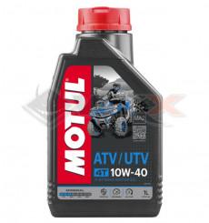 Piece Huile moteur MOTUL QUAD ATV 10W40 4T 1 Litre de Pit Bike et Dirt Bike