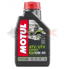 Piece Huile moteur MOTUL QUAD ATV EXPERT 10W40 4T 1 Litre de Pit Bike et Dirt Bike