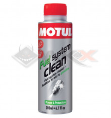 Piece Nettoyant moteur additif essence MOTUL FUEL SYSTEM CLEAN 200ml de Pit Bike et Dirt Bike
