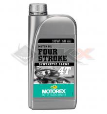 Piece Huile moteur MOTOREX 10W40 4T 1 Litre de Pit Bike et Dirt Bike